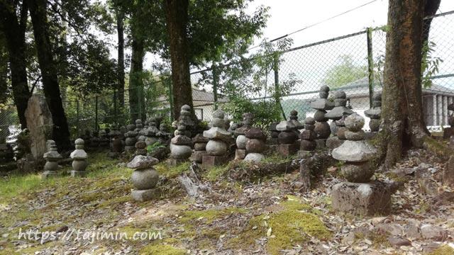 櫻堂薬師(瑞浪市)の石塔群