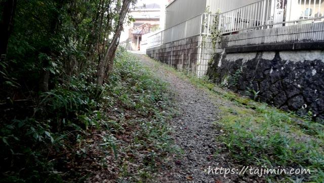 散歩で見つけた抜け道